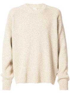 свитер с круглым вырезом в рубчик  Jan Jan Van Essche