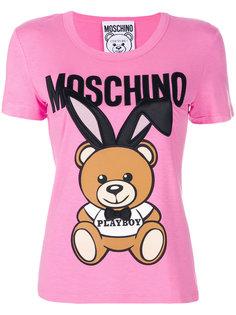 футболка Playboy Toy Bear Moschino