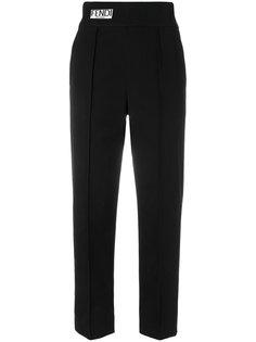 укороченные брюки  с завышенной талией Fendi