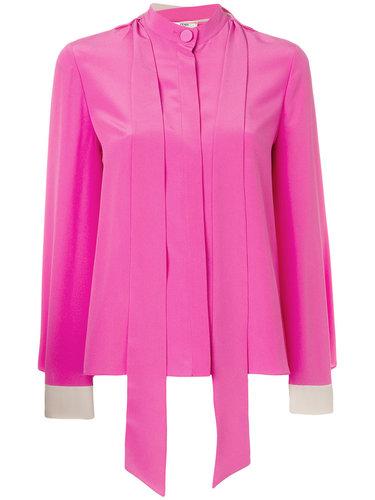 блузка с лямками Fendi