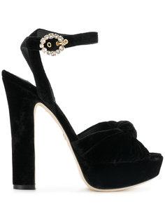 босоножки на платформе Dolce & Gabbana