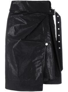 короткая юбка с запахом Isabel Marant