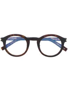 очки с круглой оправой Saint Laurent Eyewear