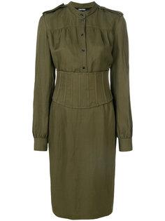 приталенное платье-рубашка Tom Ford