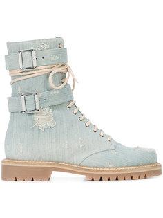 ботинки на шнуровке Alexandre Vauthier