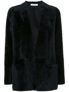 открытый пиджак из овчины Inès & Maréchal