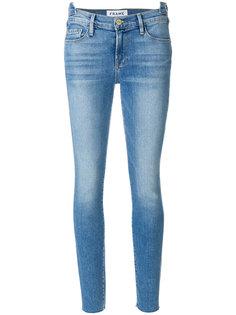 джинсы с необработанной отделкой Frame Denim
