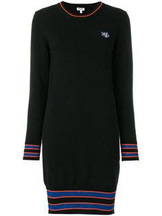 платье-свитер Tiger Crest  Kenzo