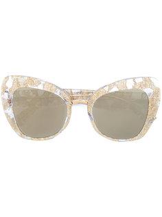 """солнцезащитные очки с оправой """"кошачий глаз"""" Dolce & Gabbana Eyewear"""