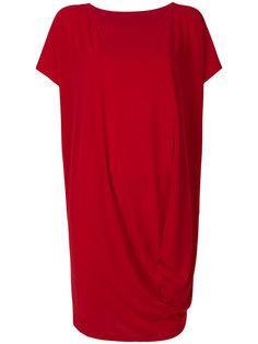 платье-миди с драпировкой Issey Miyake
