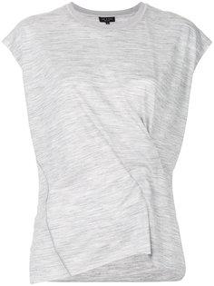 футболка с завязками на узел Rag & Bone