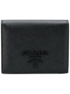 кошелек с логотипом  Prada