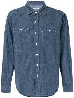 рубашка с контрастной строчкой Engineered Garments