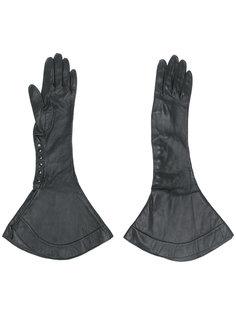 расклешенные перчатки Alaïa Vintage