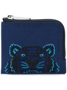 кошелек на молнии с изображением тигра Kenzo