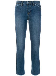 укороченные джинсы с необработнными краями Tory Burch