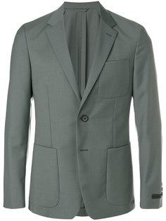 классический пиджак узкого кроя Prada