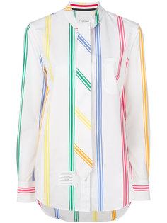 полосатая рубашка  Thom Browne