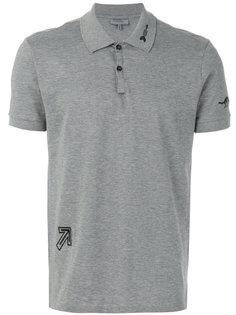 футболка-поло с вышивкой Lanvin