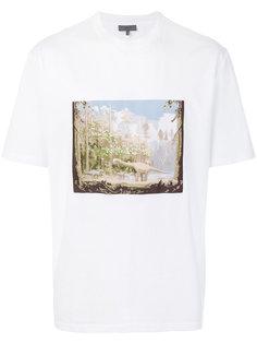 футболка с принтом динозавра Lanvin