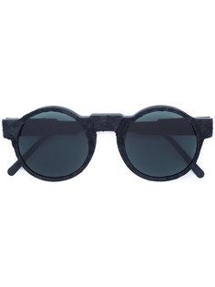 круглые солнцезащитные очки Kuboraum
