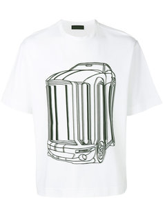 футболка с принтом автомобиля Diesel Black Gold