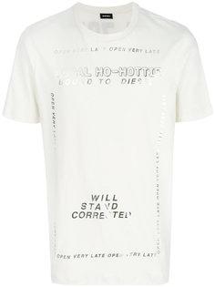 футболка T-Just-SU Diesel
