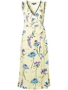 платье с цветочным принтом Markus Lupfer