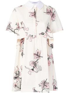 платье с цветочным принтом Vivetta