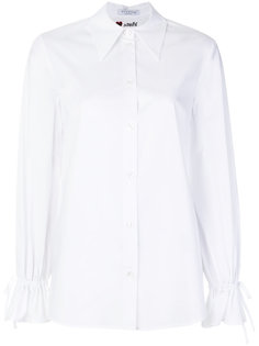 рубашка с манжетами на завязках Vivetta
