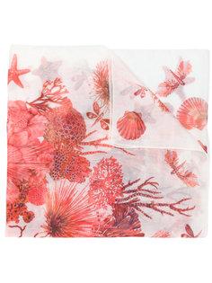шарф sea creature Roberto Cavalli