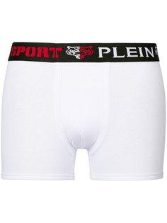 боксеры с эластичной талией с логотипом Plein Sport
