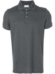 приталенная рубашка-поло  Saint Laurent