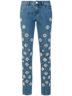 джинсы с украшением из кристаллов Michael Michael Kors