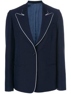пиджак с контрастной окантовкой Golden Goose Deluxe Brand