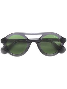 солнцезащитные очки с двойной оправой Moncler Eyewear