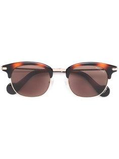 солнцезащитные очки  с массивной оправой Moncler Eyewear