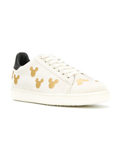 Micky Mouse embroidered trainers Moa Master Of Arts