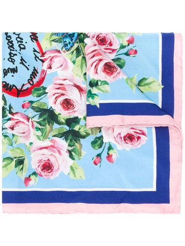 шейный платок с принтом 'Amore' Dolce & Gabbana