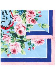 шейный платок с принтом Amore Dolce & Gabbana