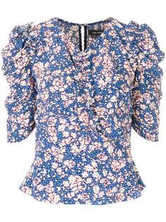 блузка с цветочным принтом Isabel Marant