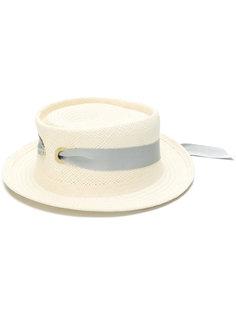 плетеная летняя шляпа Federica Moretti
