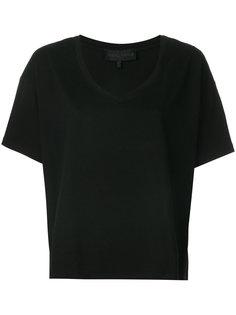 футболка с V-образным вырезом Kendall+Kylie