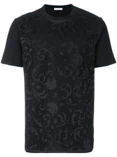 футболка с лазерным узором Versace Collection