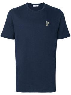 футболка с маленьким логотипом Versace Collection
