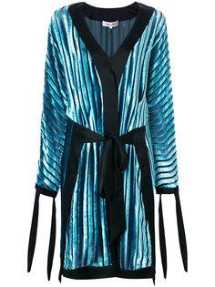 бархатное платье с запахом Dvf Diane Von Furstenberg