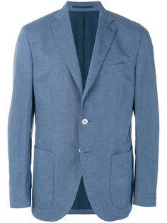 пиджак с накладными карманами Cantarelli