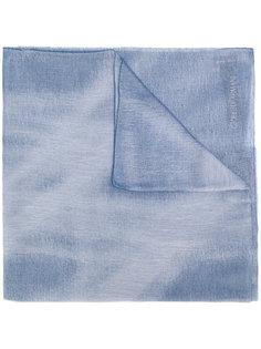 шарф с бахромой Giorgio Armani
