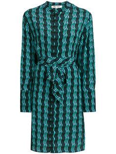 платье с волнистым принтом Dvf Diane Von Furstenberg