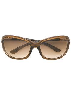 массивные солнцезащитные очки Tom Ford Eyewear
